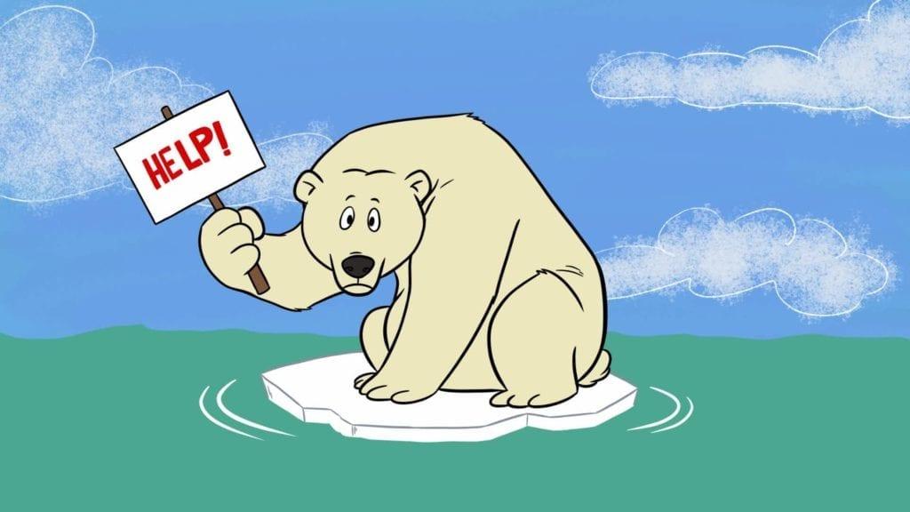 Loopt de ijsbeer gevaar?